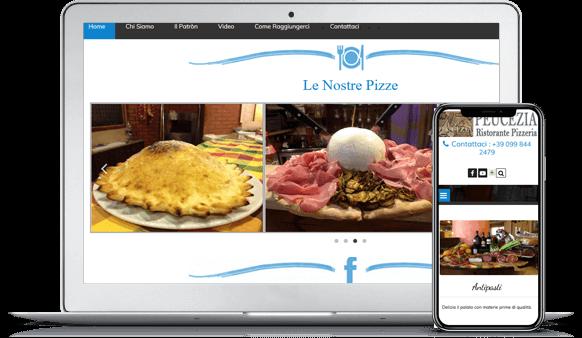 sito pizzeria ristorante